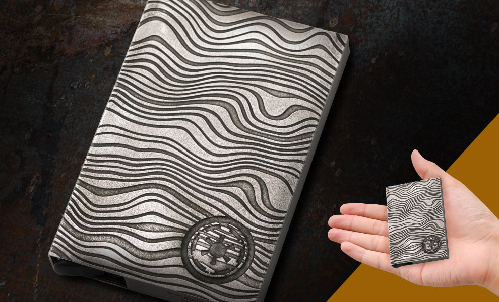 Gallery Feature Image of Beskar Ingot Credit Card Wallet Apparel - Click to open image gallery