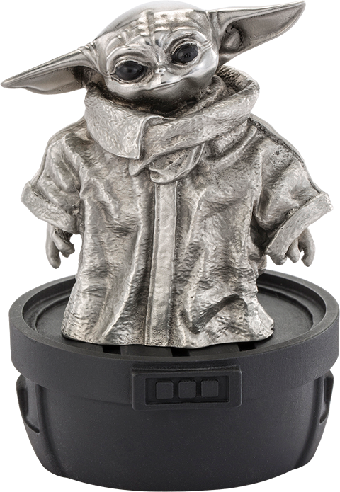 Royal Selangor Grogu Limited Edition Figurine Pewter Collectible