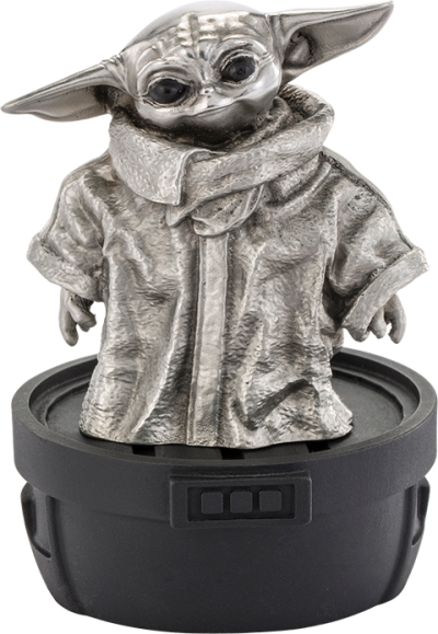 Grogu Limited Edition Figurine Pewter Collectible