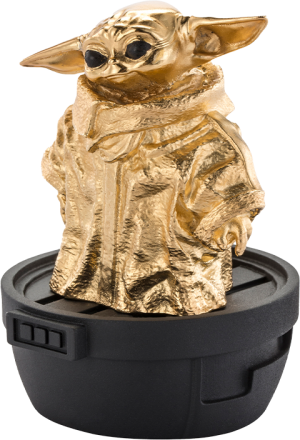Grogu (Gilt) Limited Edition Pewter Collectible