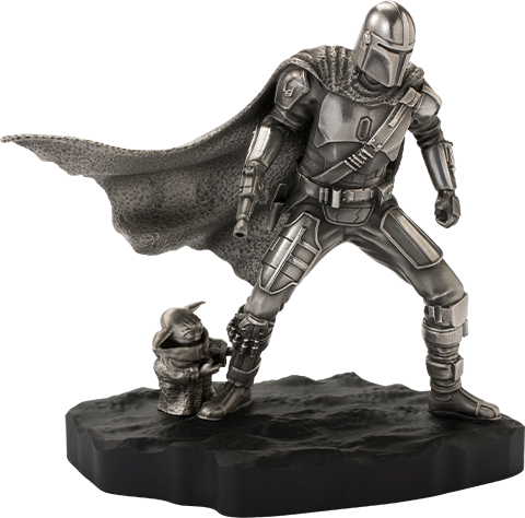 Royal Selangor Mandalorian Limited Edition Figurine Pewter Collectible
