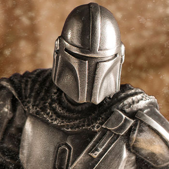 Mandalorian Limited Edition Figurine Pewter Collectible