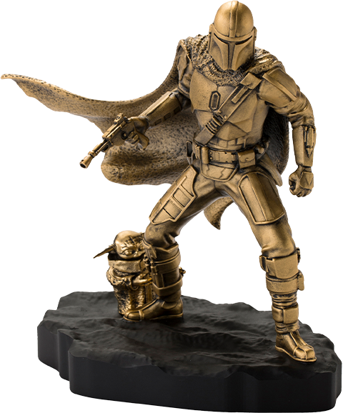 Royal Selangor Mandalorian (Gilt) Limited Edition Figurine Pewter Collectible