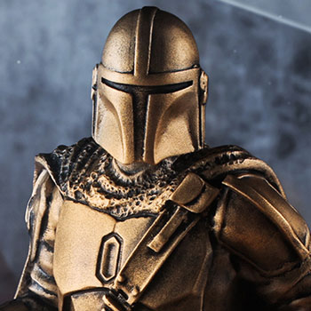 Mandalorian (Gilt) Limited Edition Figurine Pewter Collectible