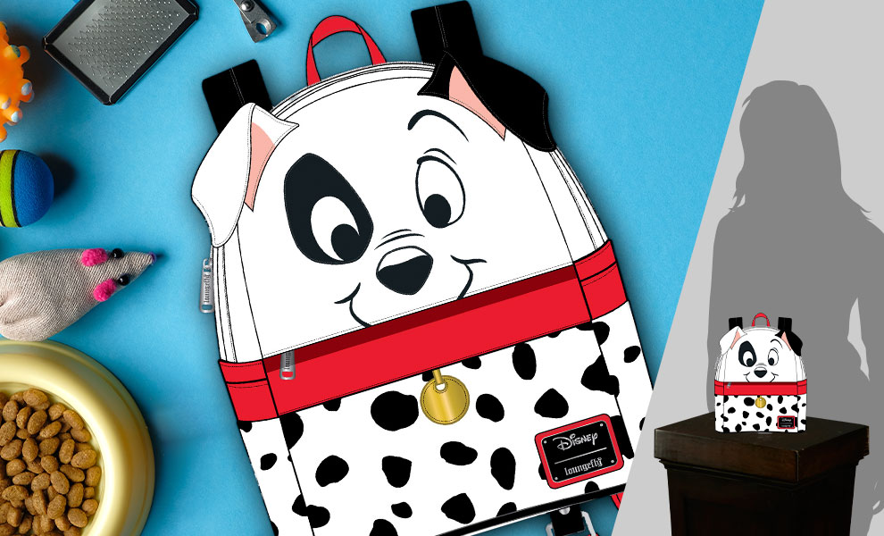 Gallery Feature Image of 101 Dalmatians 70th Anniversary Cosplay Mini Backpack Apparel - Click to open image gallery