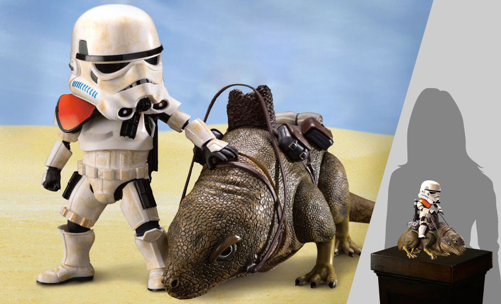 Gallery Feature Image of Dewback and Sandtrooper Action Figure - Click to open image gallery
