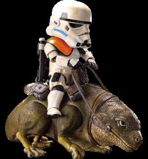 Dewback and Sandtrooper Action Figure