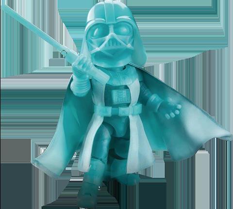 Beast Kingdom Darth Vader (Glow in the Dark Version) Action Figure