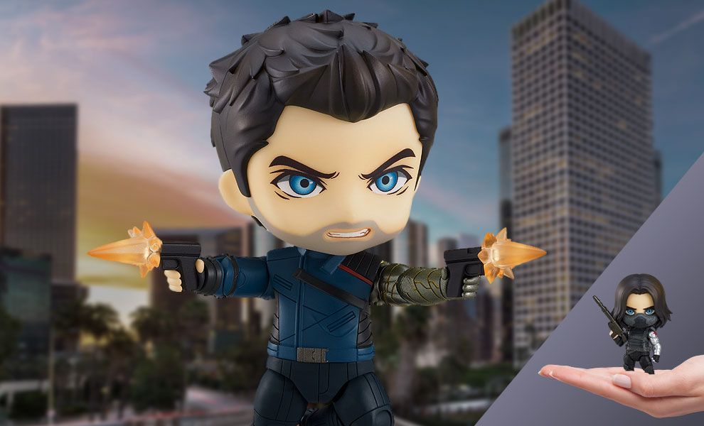 Gallery Feature Image of Winter Soldier DX Nendoroid Collectible Figure - Click to open image gallery