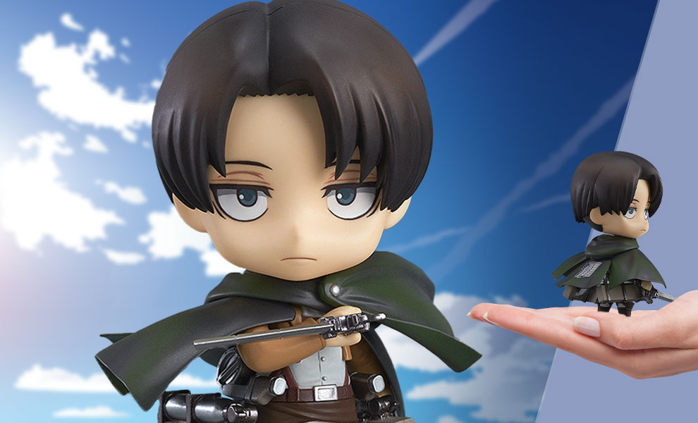 Gallery Feature Image of Levi Nendoroid Collectible Figure - Click to open image gallery