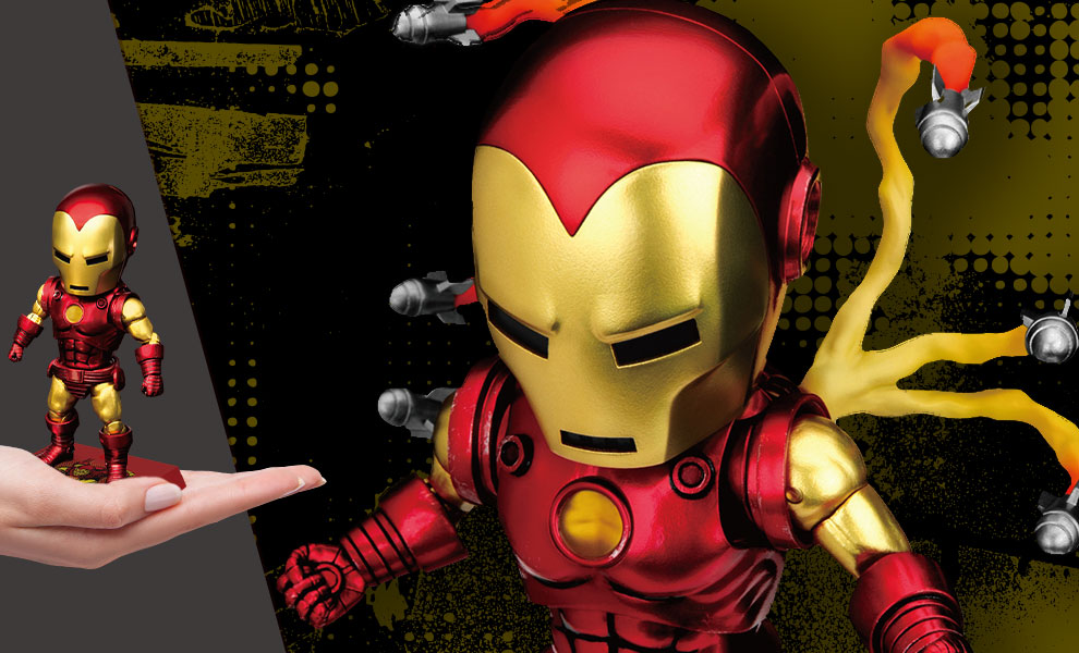 Gallery Feature Image of Iron Man Classic Version Action Figure - Click to open image gallery