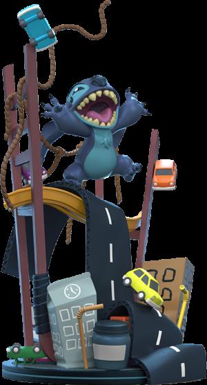 Stitch x San Francisco Q-Fig Max Elite Collectible Figure