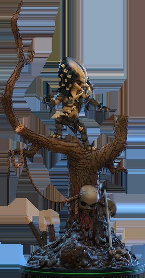 Quantum Mechanix Predator Q-Fig Max Elite Collectible Figure