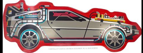 3D Retro Back to The Future PART III DeLorean Shaped Skateboard Deck