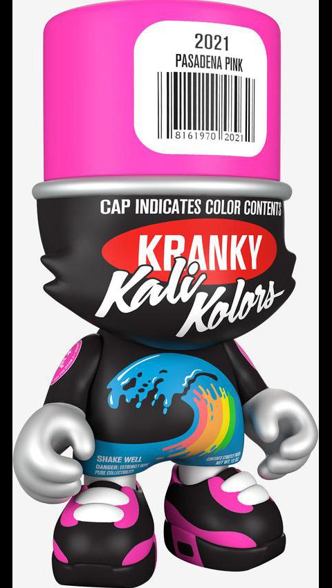 "Superplastic ""Pasadena Pink"" SuperKranky Designer Collectible Toy"