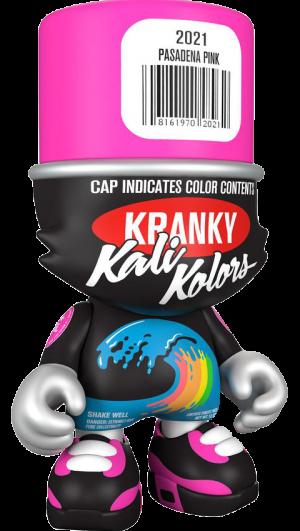 """Pasadena Pink"" SuperKranky Designer Collectible Toy"