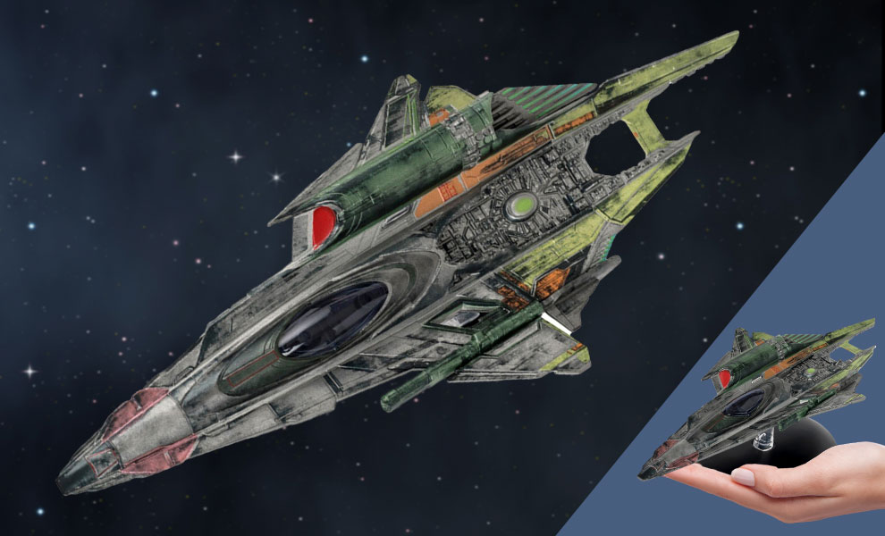 Gallery Feature Image of Seven of Nine's Fenris Ranger Ship Model - Click to open image gallery