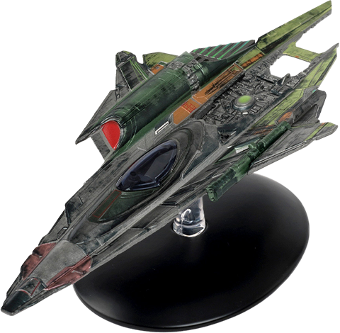 Eaglemoss Seven of Nine's Fenris Ranger Ship Model