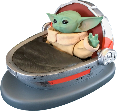 Fanwraps The Child (Grogu) Solar Powered Dashboard Waver Miscellaneous Collectibles