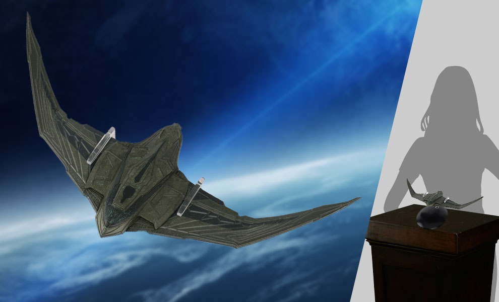 Gallery Feature Image of Romulan Vessel Model - Click to open image gallery