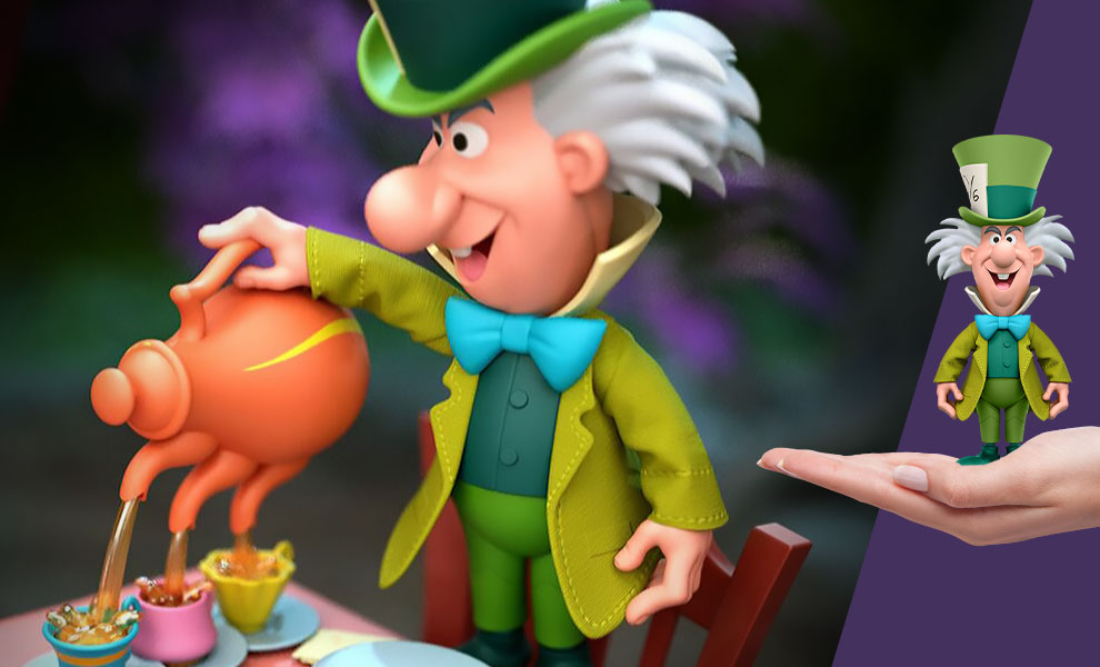 Gallery Feature Image of Tea Time Mad Hatter Action Figure - Click to open image gallery