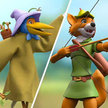 Robin Hood Stork Costume Action Figure