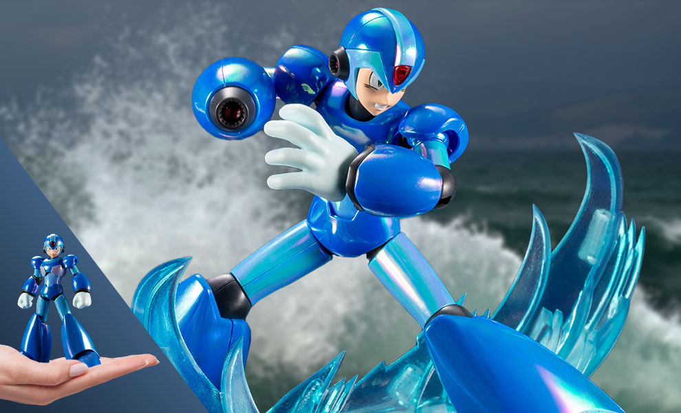 Gallery Feature Image of Mega Man X (Premium Charge Shot Version) Model Kit - Click to open image gallery
