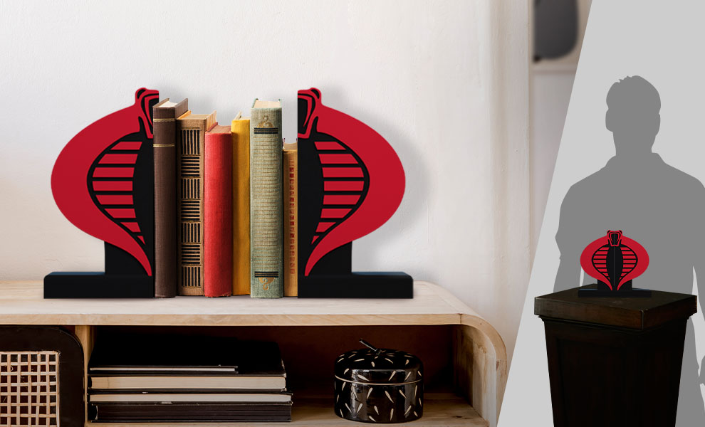 Gallery Feature Image of Cobra Logo Bookend Office Supplies - Click to open image gallery