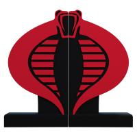 Gallery Image of Cobra Logo Bookend Office Supplies
