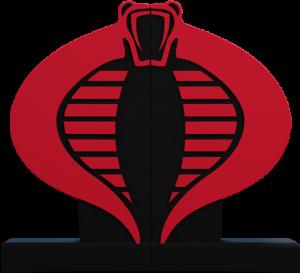 Cobra Logo Bookend Office Supplies