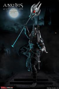 Gallery Image of Anubis Guardian of The Underworld (Silver) Sixth Scale Figure
