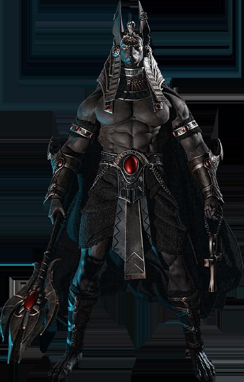 TBLeague Anubis Guardian of The Underworld (Silver) Sixth Scale Figure