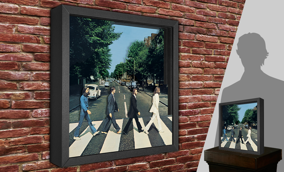 Gallery Feature Image of The Beatles Abbey Road Shadow box art - Click to open image gallery