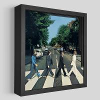 Gallery Image of The Beatles Abbey Road Shadow box art