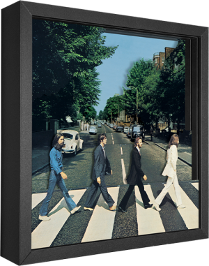 The Beatles Abbey Road Shadow box art