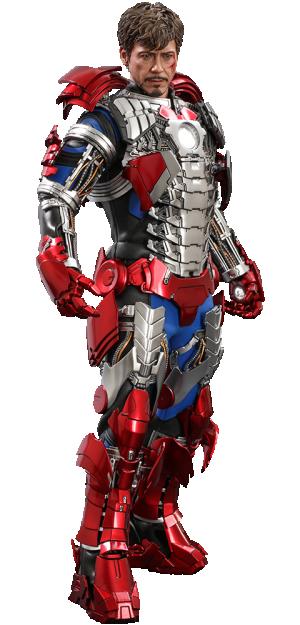 Tony Stark (Mark V Suit Up Version) Sixth Scale Figure