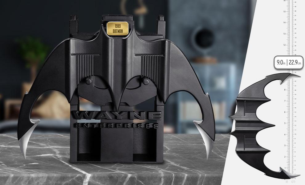 Gallery Feature Image of 1989 Batman Metal Batarang Replica - Click to open image gallery