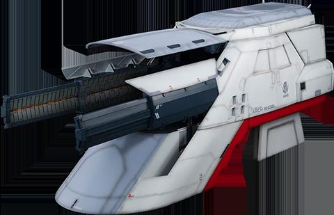 MegaHouse Archangel Catapult Deck (For 1/144 HGUC) Collectible Figure