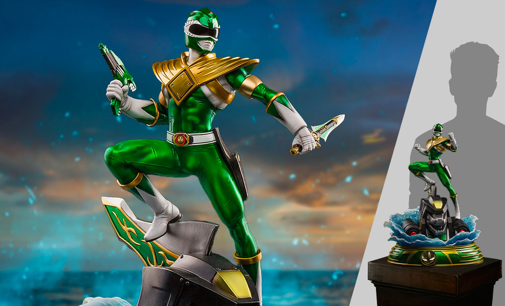 Gallery Feature Image of Green Ranger Statue - Click to open image gallery