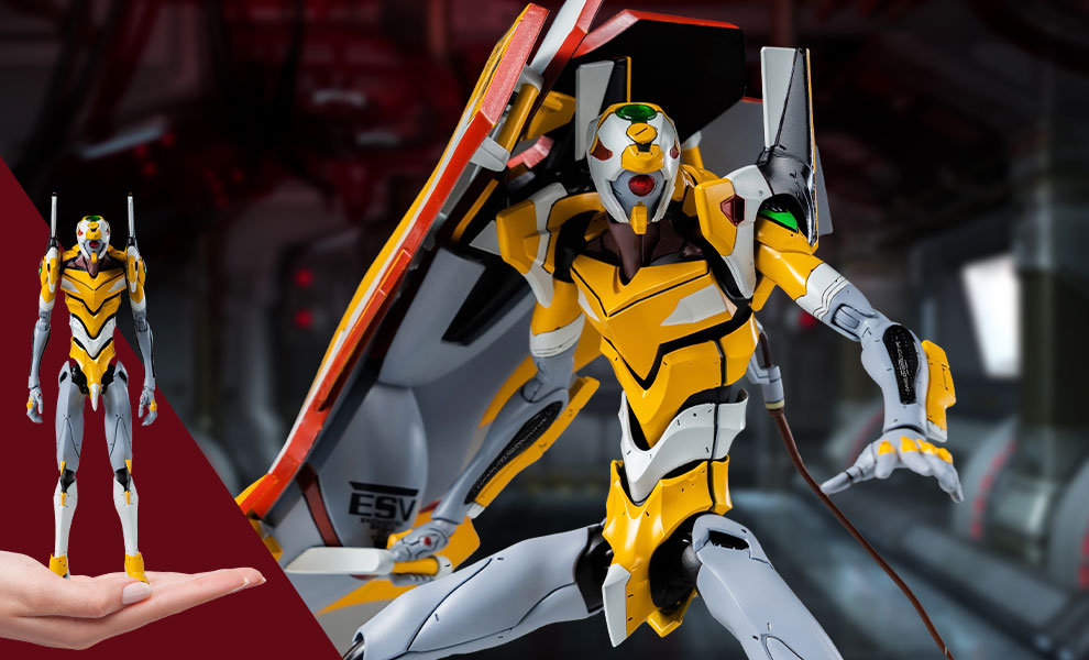Gallery Feature Image of ROBO-DOU Evangelion Proto Type-00 Collectible Figure - Click to open image gallery