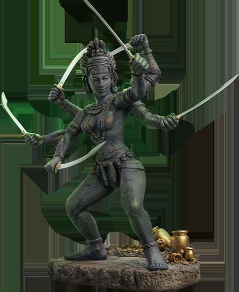 Star Ace Toys Ltd. Kali (Deluxe version) Statue