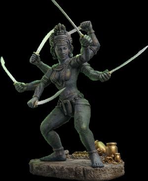 Kali (Deluxe version) Statue