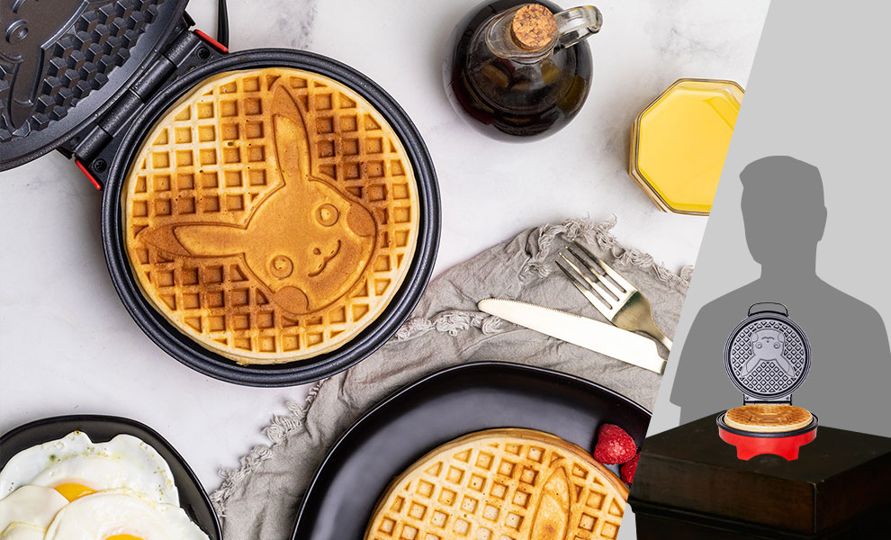 Gallery Feature Image of Pikachu Waffle Maker Kitchenware - Click to open image gallery
