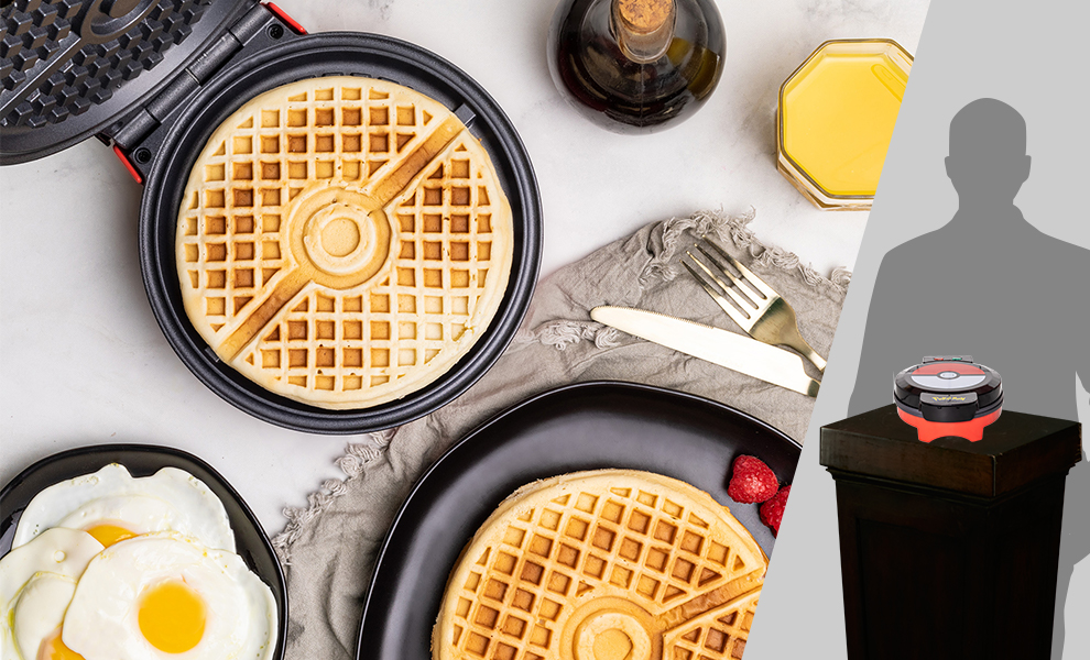 Gallery Feature Image of Pokéball Waffle Maker Kitchenware - Click to open image gallery