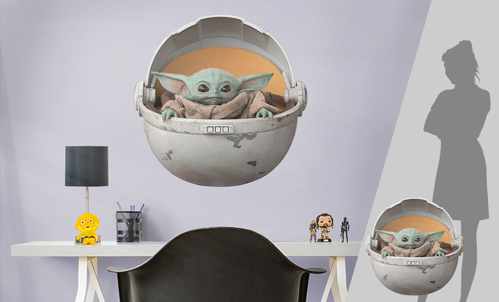 Gallery Feature Image of The Child in Pod Decal - Click to open image gallery