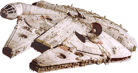 Fathead Millennium Falcon Decal