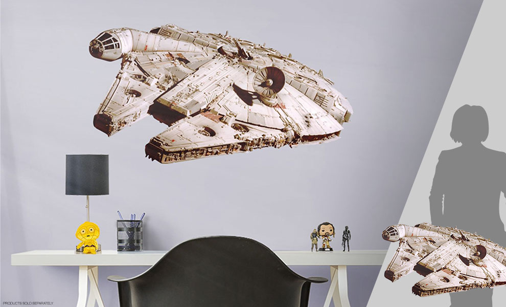 Gallery Feature Image of Millennium Falcon Decal - Click to open image gallery