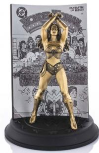 Gallery Image of Wonder Woman #1 (Gilt) Limited Edition Figurine Pewter Collectible