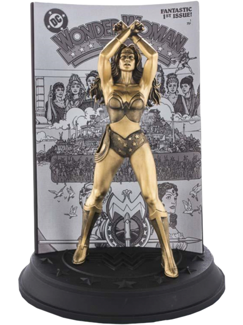 Royal Selangor Wonder Woman #1 (Gilt) Limited Edition Figurine Pewter Collectible