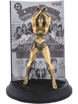 Wonder Woman #1 (Gilt) Limited Edition Figurine Pewter Collectible
